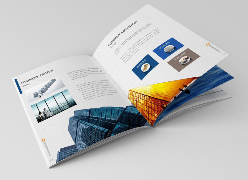 设计企业画册,画册印刷的颜色是如何处理的?